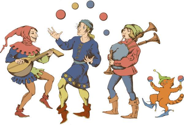 O Carnaval medieval era marcado por festas, banquetes e muitas brincadeiras.
