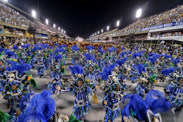 O Sambódromo, fundado em 1984, é o local no qual se realizam os desfiles das escolas de samba do Rio de Janeiro.[3]