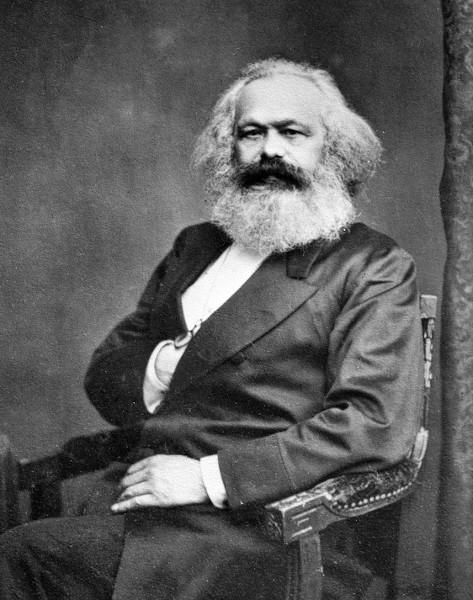 Karl Marx foi o principal teórico do materialismo histórico.