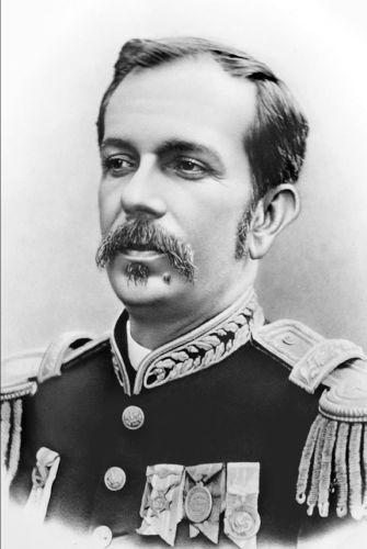 Floriano Peixoto foi presidente do Brasil de 1891 a 1894, sendo caracterizado como um presidente autoritário.[1]