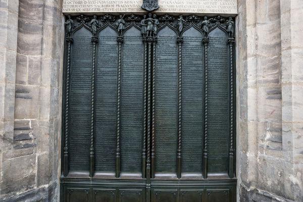 A carreira eclesiástica de Lutero deu-se toda em Wittenberg, cidade onde ficava a universidade em que ele trabalhava.