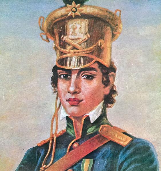 Heroína da Independência, Maria Quitéria passou-se por homem para entrar no Exército.