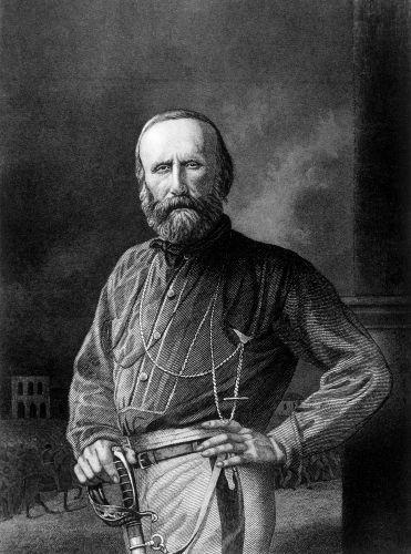 Giuseppe Garibaldi foi um dos grandes nomes da Guerra dos Farrapos e teve papel expressivo na fundação da República Juliana, em 1839.