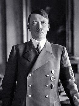 Adolf Hitler, um dos maiores tiranos da humanidade.