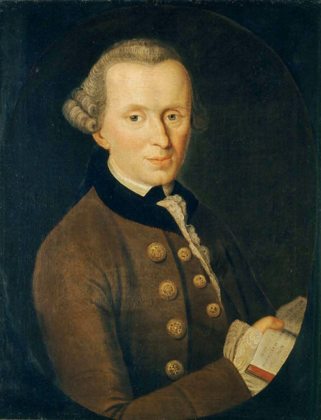 Kant, o idealizador do imperativo categórico.