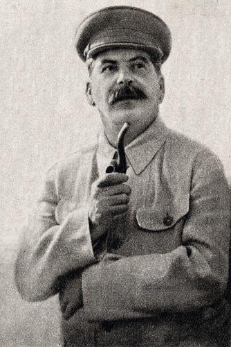 Josef Stalin, líder totalitário da União Soviética.