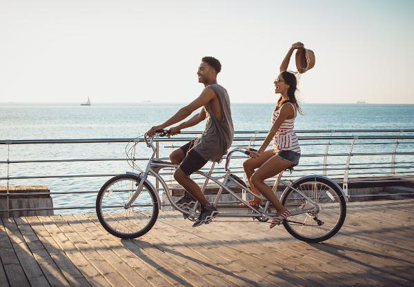 A bicicleta é o lugar onde os ciclistas estão, para ir aonde eles querem.