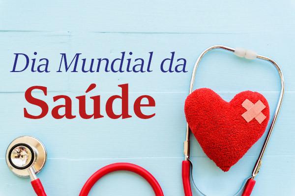 O Dia Mundial da Saúde é comemorado em 7 de abril, mesmo dia em que, em 1948, foi criada a Organização Mundial de Saúde.