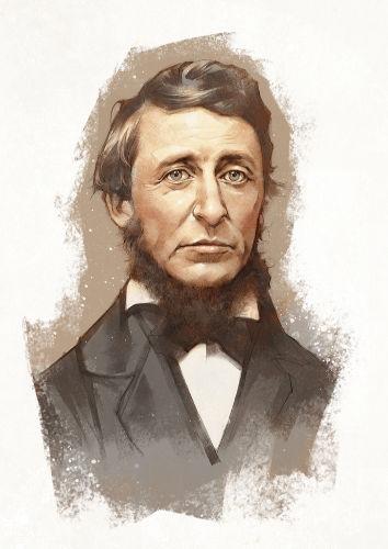 Henry David Thoreau é considerado o criador do conceito de desobediência civil por meio de seu ensaio escrito no século XIX. [2]