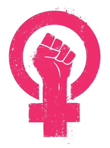 Símbolo de resistência das mulheres usado para identificar os movimentos feministas.