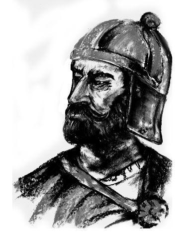 O rei Odoacro liderou os hérulos, que invadiram Roma em 476 d.C. e destituíram o último imperador romano.