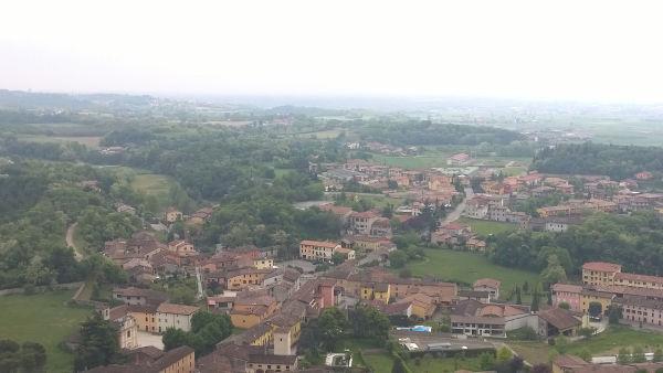 Local próximo de onde aconteceu a Batalha de Solferino, na Itália.