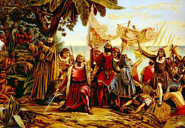 Em 12 de outubro de 1492, a expedição liderada por Cristóvão Colombo chegou a uma ilha que faz parte das Bahamas atualmente.