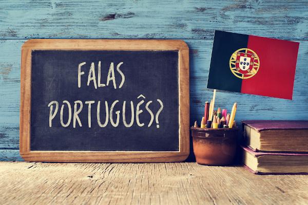 Os colonizadores portugueses conquistaram terras e impuseram o seu idioma.