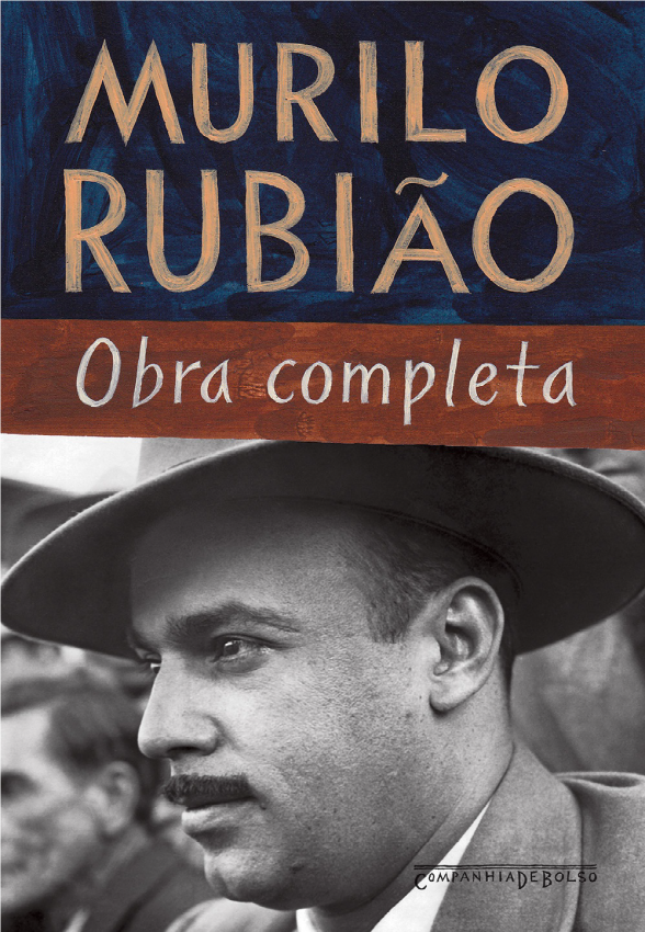 Obra completa de Murilo Rubião (na foto de capa), publicada pela editora Companhia das Letras. [1]