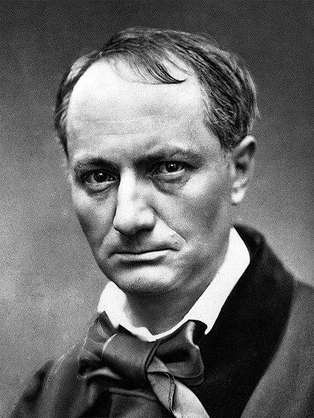 Retrato do escritor francês Charles Baudelaire, possivelmente de 1863.