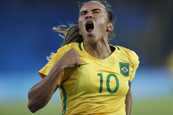 Marta foi eleita pela Fifa, por seis vezes, a melhor jogadora de futebol do mundo. [1]
