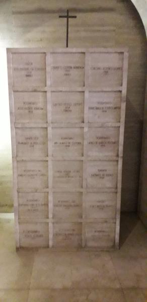 No monumento da Revolução de 1932, estão os restos mortais dos que morreram durante o combate com as tropas federais.