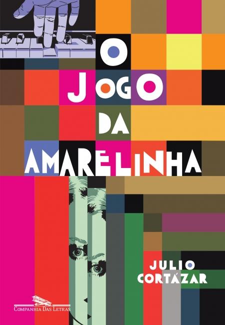 Capa do livro O jogo da amarelinha, de Julio Cortázar, publicado pela editora Companhia das Letras.[1]