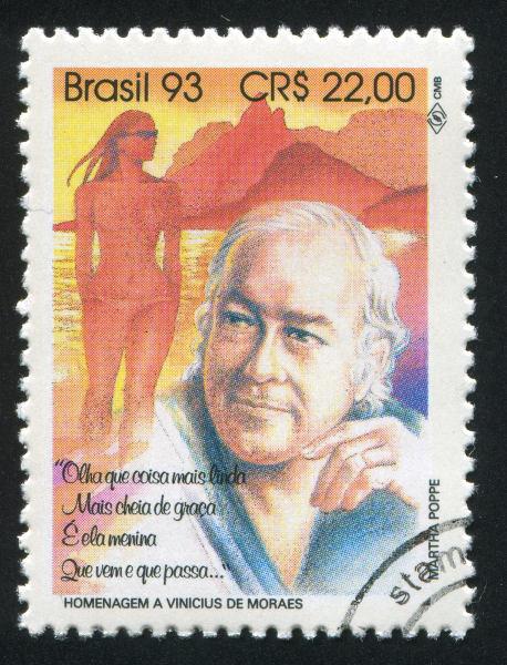 O poeta Vinicius de Moraes dominava a arte de fazer poemas.|1|