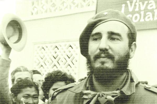 Fidel Castro liderou a Revolução Cubana e tornou-se primeiro-ministro de Cuba, em 1959, aos 32 anos.[1]