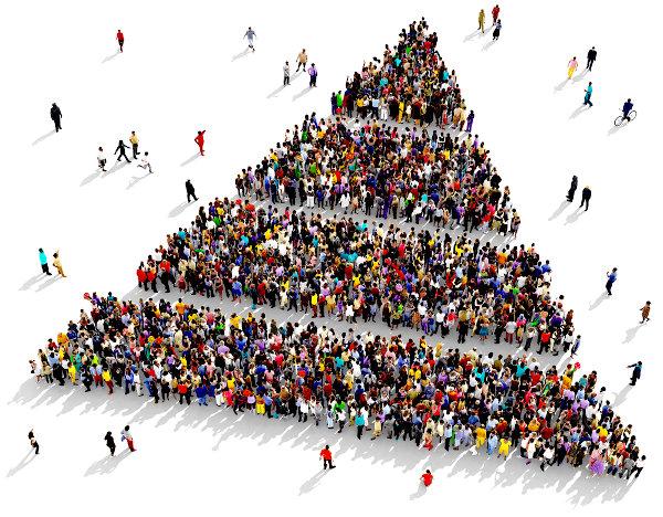 Mobilidade social é o deslocamento de posições na pirâmide socioeconômica por indivíduos ou grupos.