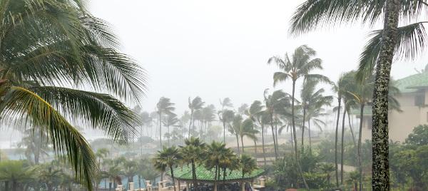 O vento é um grande aliado na formação de chuvas e outros fenômenos meteorológicos.