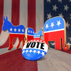 símbolos dos partidos dos Estados Unidos