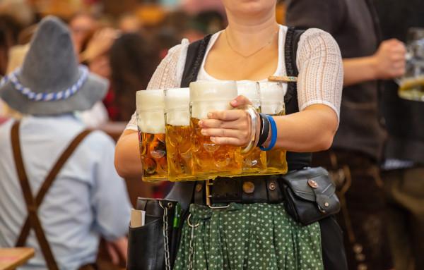Oktoberfest, em Munique.