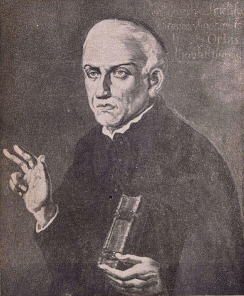 Padre José de Anchieta trabalhou na catequização dos índios e produziu o primeiro dicionário da língua tupi-guarani.