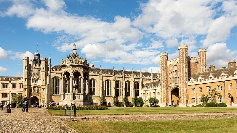 Trinity College, instituição na qual Bacon se formou. [1]