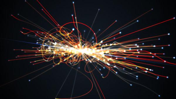 Alguns aceleradores de partículas investigam colisões altamente energéticas entre partículas.
