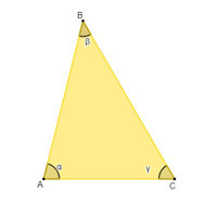 Triângulo amarelo