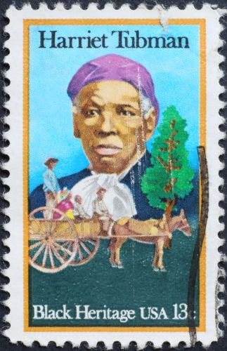 Harriet Tubman foi uma mulher negra que dedicou a sua vida a lutar contra a escravidão nos Estados Unidos do século XIX.[1]