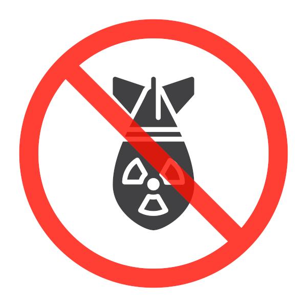 O TPAN visa à proibição de armas nucleares em todo o mundo.