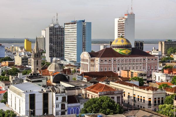 Manaus é a cidade mais populosa do Amazonas.