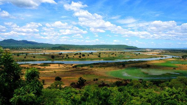 O rio Benue é um dos mais importantes da Nigéria.