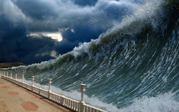 As chances de um tsunami atingir o Brasil futuramente são muito pequenas, praticamente nulas.