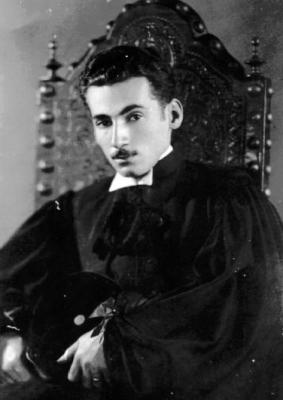 O escritor Jorge Amado, em 1935.