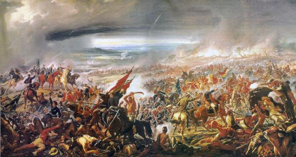 A Batalha do Avaí é uma pintura que tem 50 metros quadrados, sendo uma das mais famosas de Pedro Américo.[1]