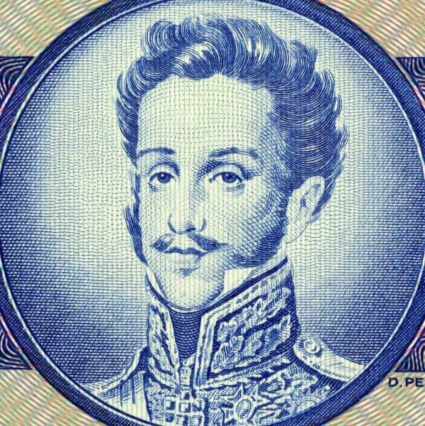 Com a independência do Brasil, D. Pedro foi coroado como imperador do Brasil.[2]