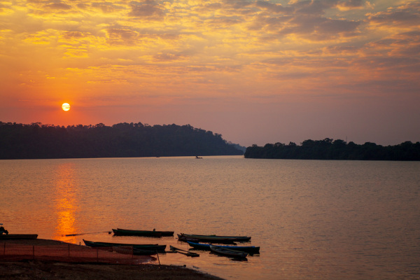 O Xingu é um dos principais rios que banham o Pará.