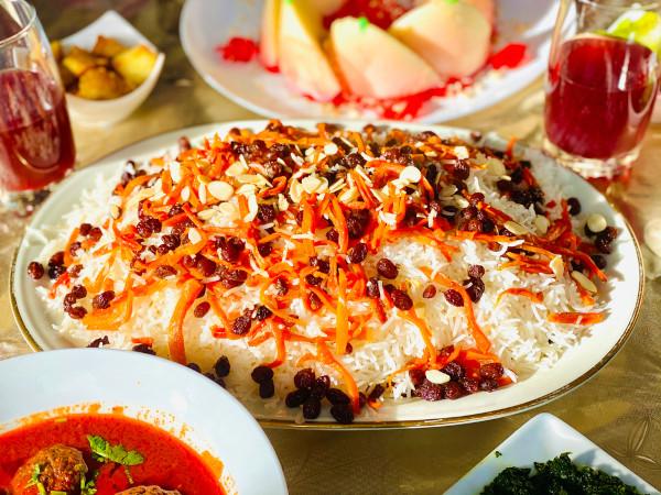 Kabuli palau, prato tradicional do Afeganistão