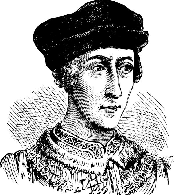 O rei Henrique V ampliou o domínio inglês sobre a França e participou dos conflitos na Normandia, em 1415.