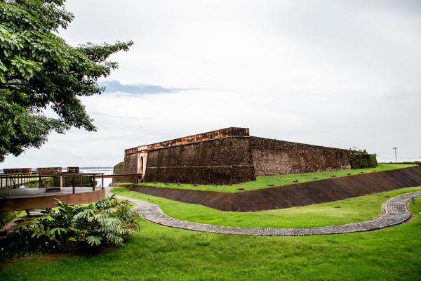 Forte do Castelo em Belém, no Pará.