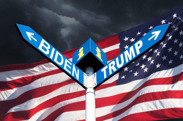 Trump e Biden