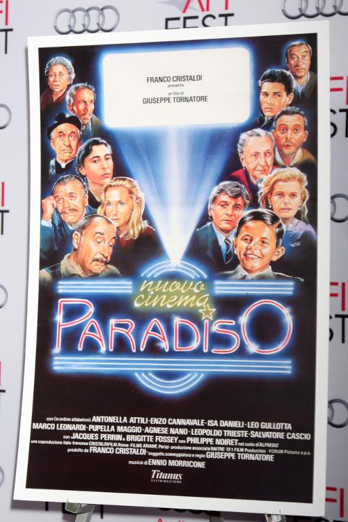 """Cartaz do filme """"Cinema Paradiso"""".[1]"""