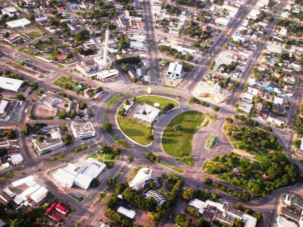 Boa Vista tem um formato radial inspirado no conceito de cidade-jardim.[1]