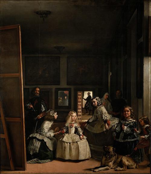 """Imagem no quadro """"As meninas"""", de Diego Velázquez."""