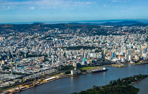 Porto Alegre, capital do Rio Grande do Sul.